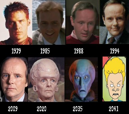 Michael Moriarty through the years